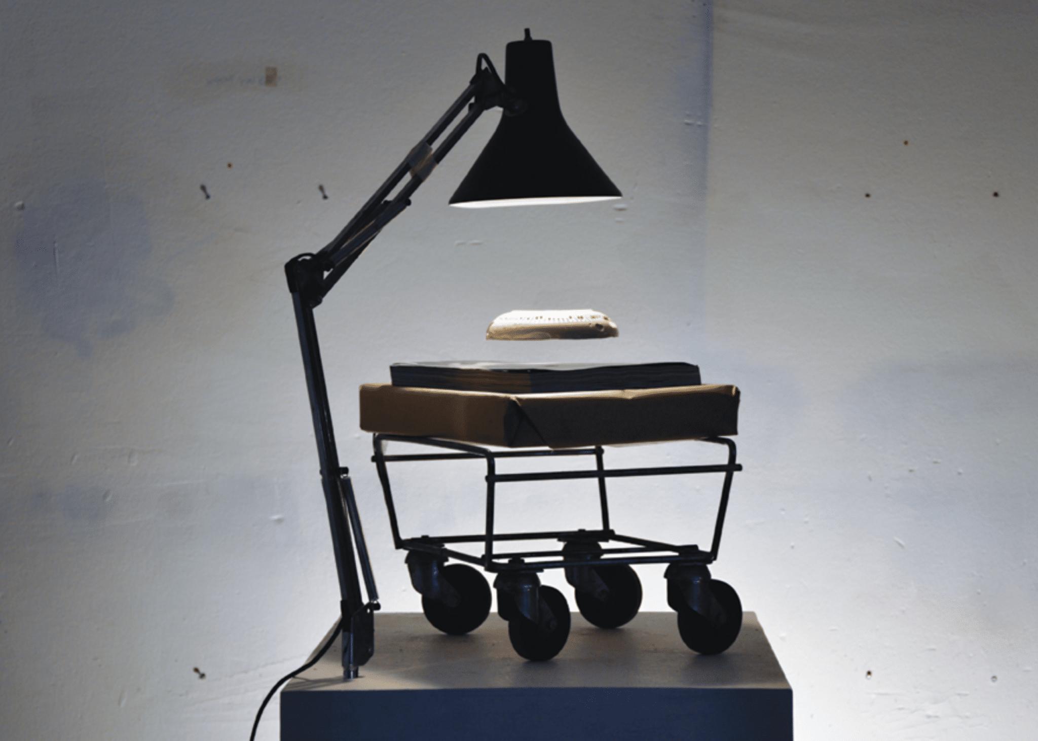 Floating art objects