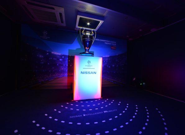 UEFA cup floating