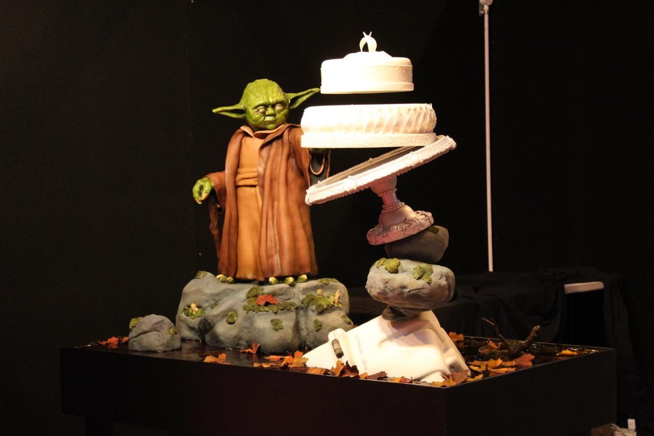 levitating cake
